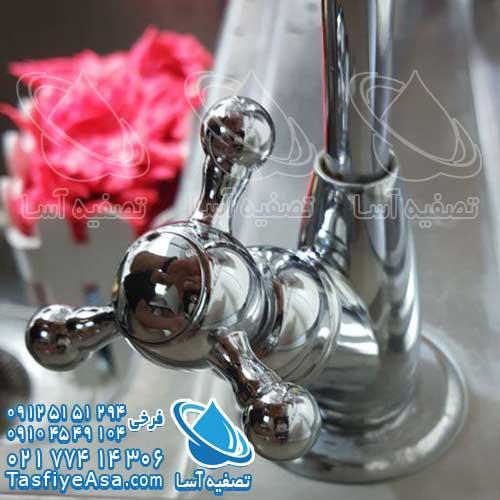 شیرآلات بهداشتی روی سینک دستگاه تصفیه آب ستاره ای قیمت خرید