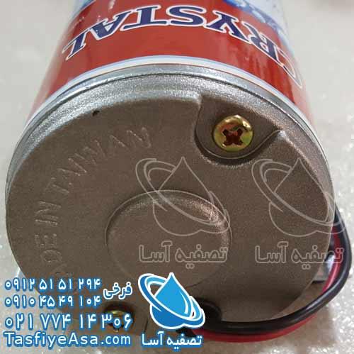 پمپ تایوانی دستگاه تصفیه آب شیرین کن تسویه تسفیه تصویه کریستال crystal