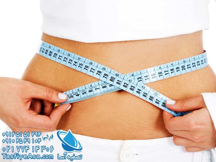 آب قلیایی و رژیم لاغری کاهش وزن