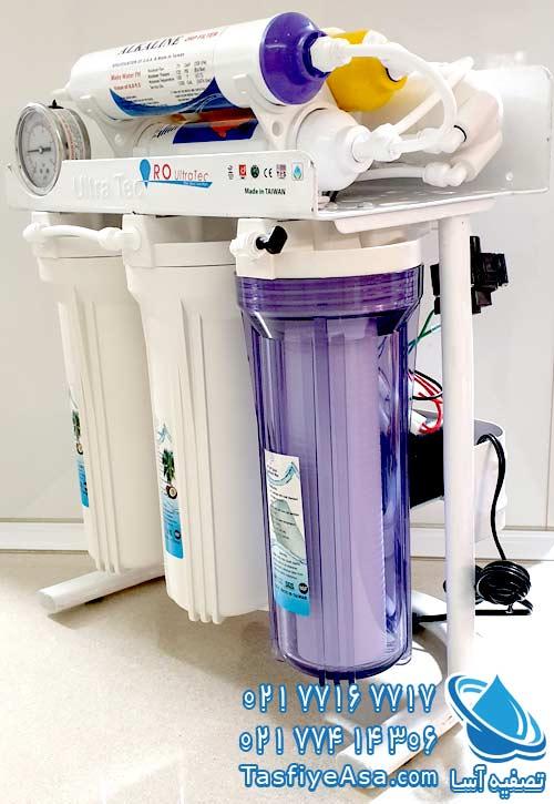 خرید دستگاه تصفیه آب خانگی قلیایی یونیزه الترا تک ULTRA TEC
