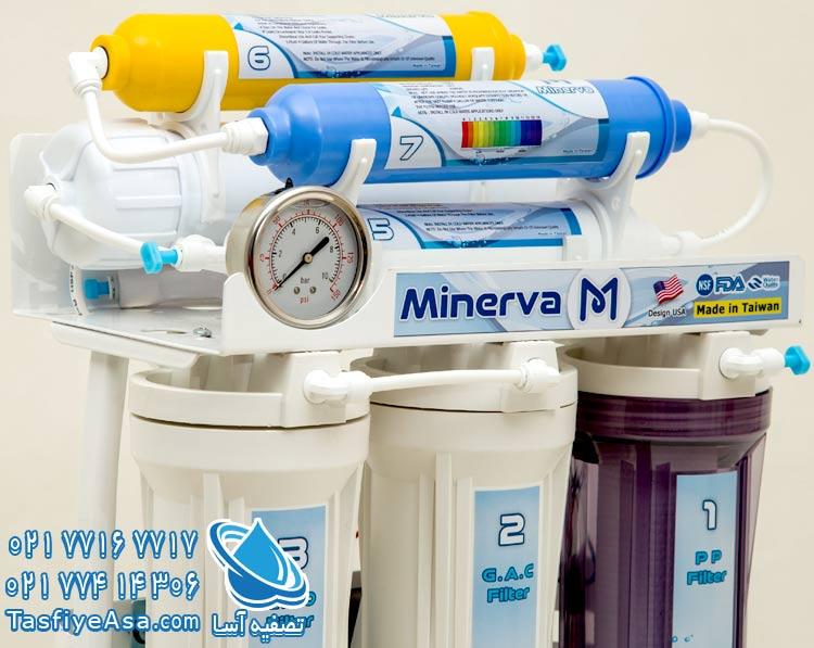 قیمت تصفیه آب خانگی قلیایی مینروا Minerva Ro7_Alkaline
