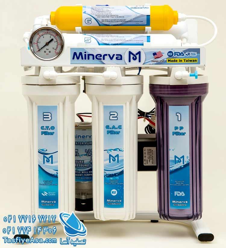 دستگاه تصفیه آب تایوانی اصل مینروا Minerva