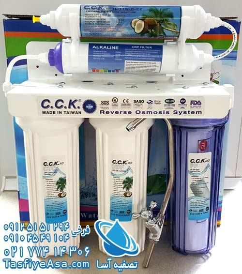 دستگاه تصفیه آب تایوانی بدون پمپ مخزن پنج مرحله ای