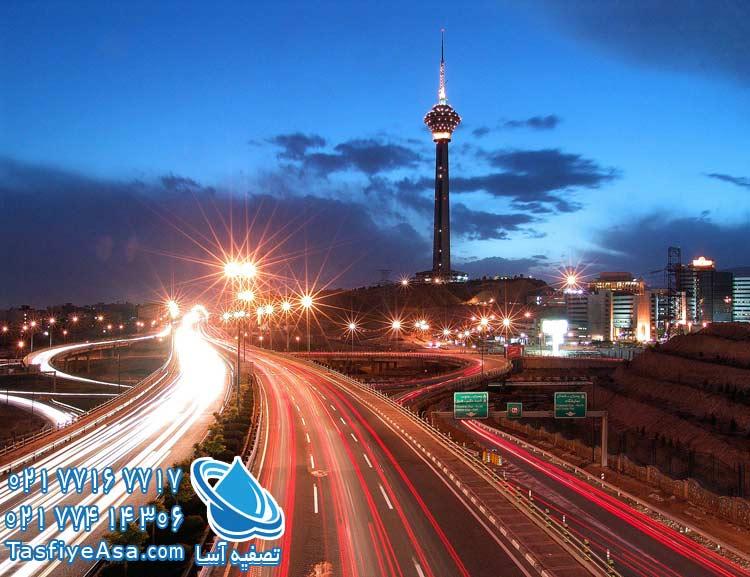 دستگاه تصفیه آب خانگی غرب تهران