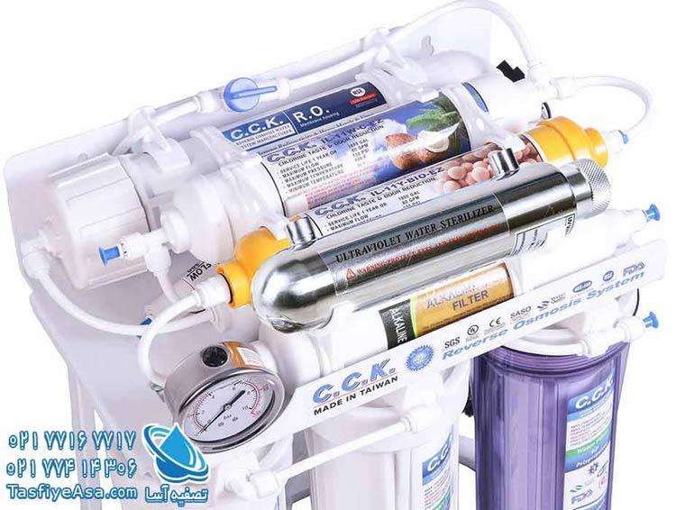 دستگاه تصفیه آب خانگی ro