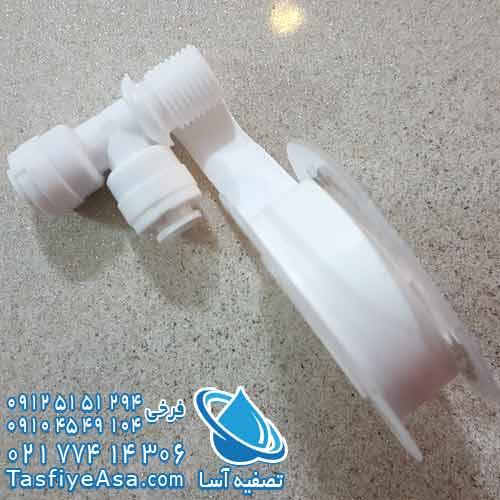 طریقه بستن نوار تفلون به اتصالات تصفیه آب خانگی