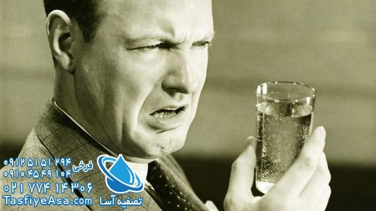 علت تلخی آب تصفیه خانگی