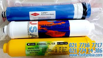 فیلتر دستگاه تصفیه آب خانگی ممبران فیلمتک پست کربن مینرال