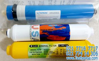 فیلتر دستگاه تصفیه آب خانگی ممبران ونترون پست کربن مینرال