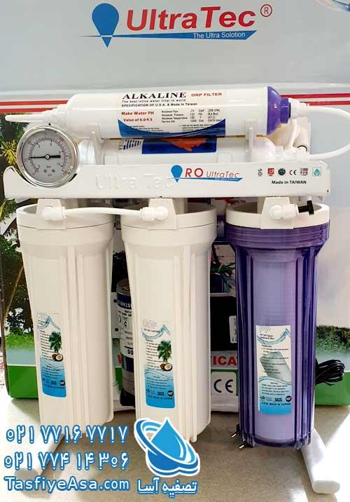 قیمت آب تصفیه کن خانگی قلیایی یونیزه الترا تک ULTRA TEC