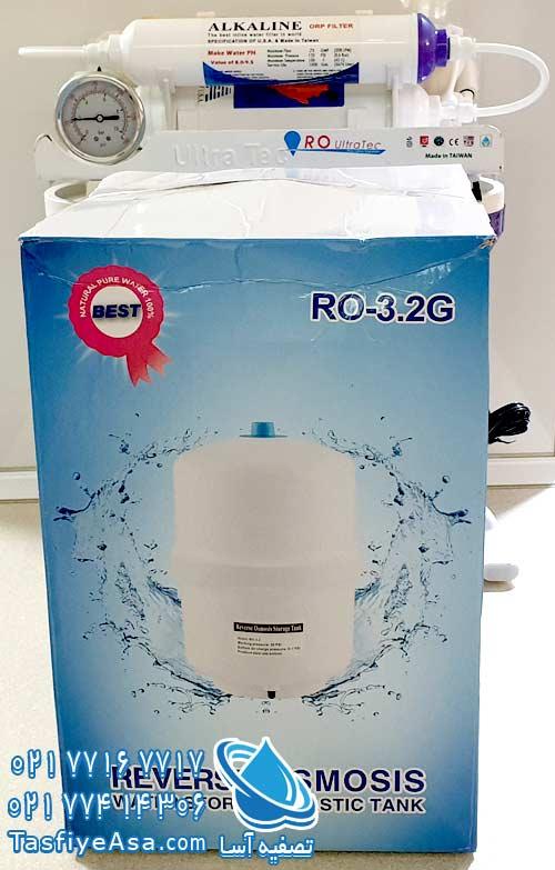 مشخصات فنی تصفیه آب اسمز معکوس الترا تک RO ULTRA TEC
