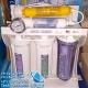 خرید دستگاه تصفیه آب خانگی 6 مرحله ای آکوا کلیر کلر Clear فیلتره