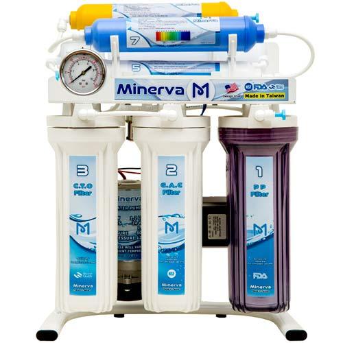 تصفیه آب خانگی 7 مرحله ای یونیزه قلیایی مینروا مدل Minerva Ro7_Alkaline