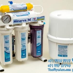 دستگاه تصفیه آب 6 مرحله ای مینروا Minerva Ro6_50G