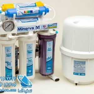 دستگاه تصفیه آب خانگی قلیایی مینروا Minerva Ro7_Alkaline