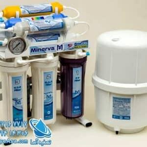 دستگاه تصفیه آب اکسیژن ساز مینروا تایوانی Minerva Ro8_o2plus
