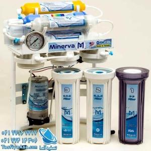 قیمت دستگاه تصفیه آب اکسیژن ساز 8 مرحله ای مینروا مدل Minerva Ro8_O2plus