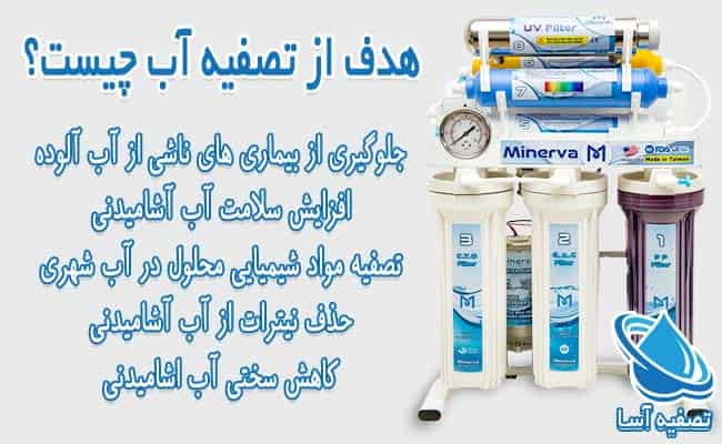 هدف از تصفیه آب چیست؟